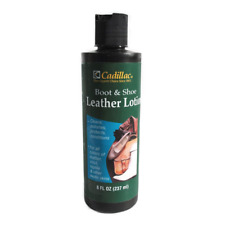 Cadillac Boot & Shoe Care Leather Lotion Protector  for vinyl,reptile - 8 fl.oz