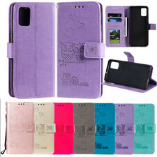 For Samsung Galaxy S20 Plus A51 A71 A81 A91 Leather Flip Wallet Cover Stand Case