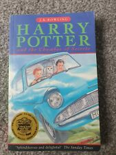 Harry potter and the chamber of secrets first edition 10thprint RARE J.K Rowling