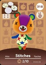Stitches NFC Tag/Coin Amiibo Card Animal Crossing New Horizons! Free Shipping!