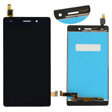 Black For Huawei P8 Lite ALE-L21 2016 Glass LCD Display Touch Screen Digitizer