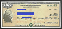 US SAVING BOND JEFFERSON $100.00  SERIES EE  UNCANCELLED one bond.
