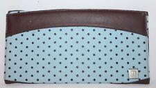 Miche Blue & Brown Polka Dot BROOKLYN Classic Purse Cover