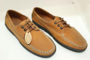 TOD'S men shoes sz 6.5 Europe 38.5 brown S8291
