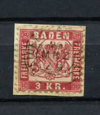 Bahnpost Heidelberg - Basel Zug 9 Typ 7 auf Nr. 24   (D1403)