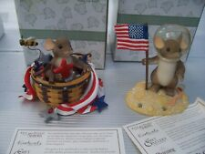 New Listing2 Charming Tails Peace is in the Stars Signed You're Out of this World Patriotic
