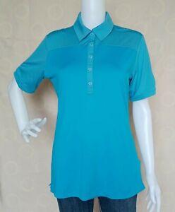 Adidas Women's Shirt Polo Shirt Tops size may fit Medium - Large frame