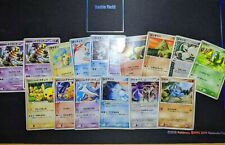 Japanese Promo Pokemon 16 card lot mix Corocoro Pokepark Pikachu Mcdonalds Movie
