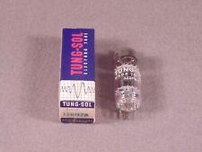 1 12BH7A TUNG-SOL Black Plate HiFi Radio Amplifier Vacuum Tube Code 322PX-1 NOS