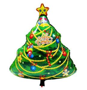 "Largesize ""Christmas Tree"" Foil BALLOON XMAS PARTY SUPPLIES (55 x 75 cm)"