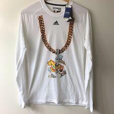 Adidas Miami Hurricanes Turnover Chain Ultimate Climalite T-Shirt - White