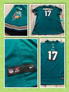 Nike NFL Ryan Tannehill Miami Dolphins Sewn Football Jersey Women 2XL XXL❄️H11