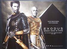 EXODUS GODS AND KINGS ORIGINAL 2014 QUAD POSTER CHRISTIAN BALE RIDLEY SCOTT