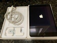 Apple iPad mini 3 128GB, Wi-Fi, Space Grey Bundle - Box, Charger, Case,Earphones