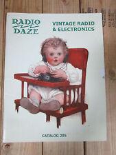 2005 Radio Daze Vintage Radio & Electronics Catalog 205