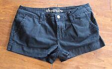 American Rag Cie black jean mini shorty shorts / juniors size 5