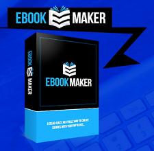 Ebook Maker- Wp Plugin Software (Digital Download) Master Resell Rights