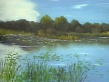 How to Paint Landscapes - Waterlilies