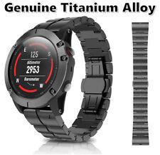 Lighter Harder Titanium Alloy Luxury Wirstband Strap For Garmin Fenix 5X Watch