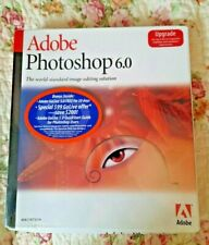 Adobe Photoshop 6.0 Upgrade for Mac 13101334 NEW Sealed 100% Genuine *READ