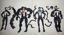 "Marvel Legends figure 6"" lot Superior Venom Black Suit Spiderman Absorbing Venom"