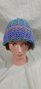 Handmade Colorful Hat Youth Knitted Winter Beanie