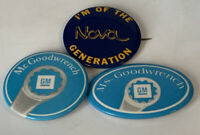 Mr. Goodwrench Pinback I'm Of The Nova Generation Lot Of 3 Vintage Button 201736