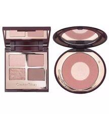 Charlotte Tilbury Pillow Talk Luxury Eyeshadow Palette & Cheek to Chic Blush Duo