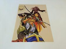 Gekka No Kenshi / Last Blade 2 mini poster / flyer SNK NEO GEO AES MVS CD Japan