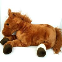 Saddle Club horse plush soft toy doll Brown Large Big