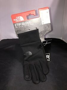 The North Face TNF ETIP Glove Gloves Black NEW Size M Medium UR Powered P6