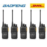 5×Baofeng GT-1 UHF PMR 400-470Mhz Radio EMISORA Transceptor Yellow Walkie Talkie