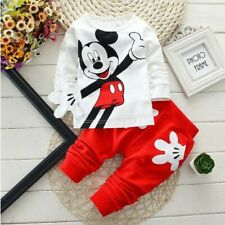 Baby Boy Clothes Cute Long Sleeved T-shirt Tops Pants Outfit For Children Kids