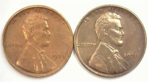 1928 & 1931 LINCOLN CENT CHOICE / GEM UNCIRCULATED SCARCE IN BRILLIANT UNC
