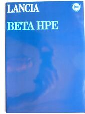 Prospekt Lancia Beta HPE 1600 / 2000, 2.1979, 20 Seiten, Hochglanz