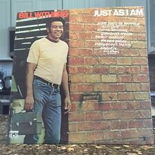 OG Bill Withers Just as I Am LP Vinyl Record Soul Curtis Mayfield Marvin Gaye