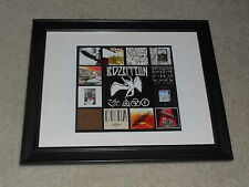 "Led Zeppelin Album Cover Poster FRAMED, 14""x17"", I, II, III, IV, 1968-2008"