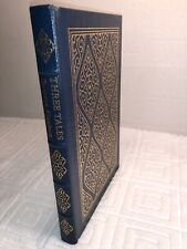 THREE TALES  By GUSTAVE FLAUBERT The Easton Press Leather  FAMOUS EDITIONS