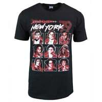 Mens The Warriors Coney Island New York 79 T Shirt Black - Cult Movie