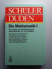 Schüler Duden Die Mathematik I 5.-10. Schuljahr 4. Auflage 1981 539 Seiten