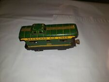 Vintage Marx 956 Seaboard Air Lines Tin Train Caboose (7419)