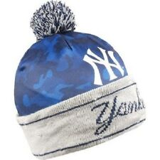 MLB Camouflage Light Up Printed Beanie Hat -Select- Team Below