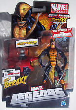 MARVEL LEGENDS. CONSTRICTOR ACTION FIGURE. NEW ON CARD. W/ TERRAX UPPER TORSO.