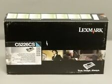 Lexmark C5226CS Cyan Toner Cartridge C522 C524 Genuine New Sealed Box