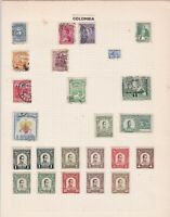 colombia stamps ref r8692