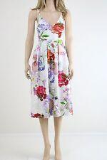 ASOS SALON Women's Premium Bonded Scuba Midi Prom Party Dress UK SIZE 10 38