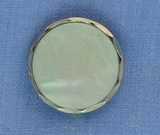 15mm Grey / Silver Shank Button