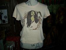 ZION ROOTSWEAR BOB MARLEY Adorable Tan Tee Shirt Size M