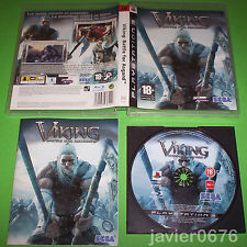 VIKING BATTLE FOR ASGARD COMPLETO PAL ESPAÑA PLAYSTATION 3