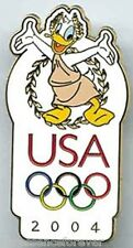 WDW/DLR Olympics 2004: Donald with Olympic Logo Pin